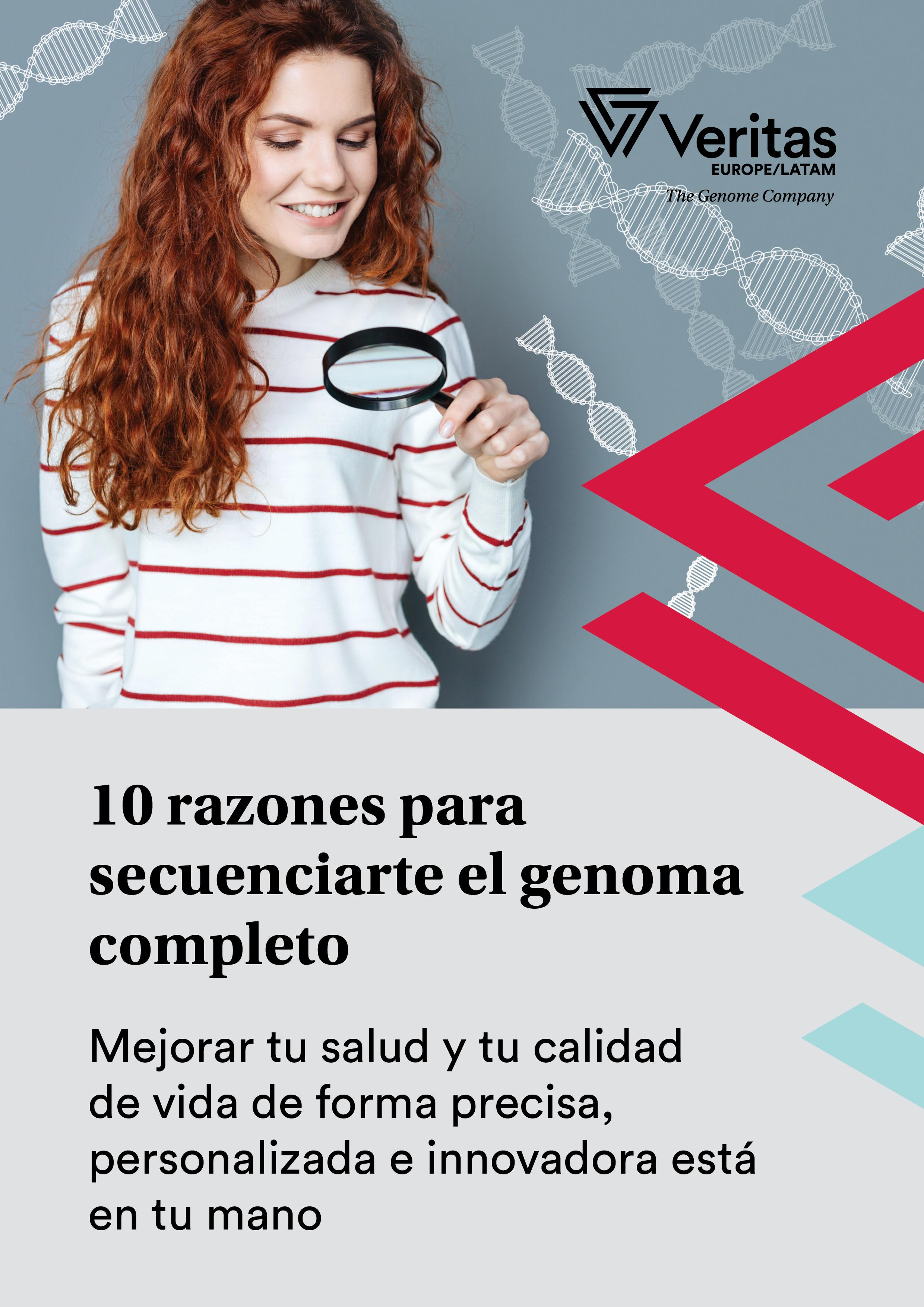 VRT - 10 razones para secuenciarte el genoma - Portada 2D